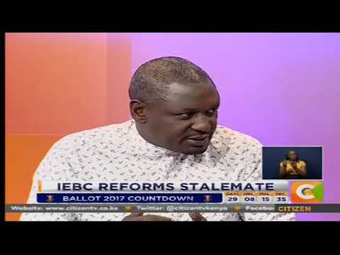 The Big Question : IEBC Reforms Stalemate