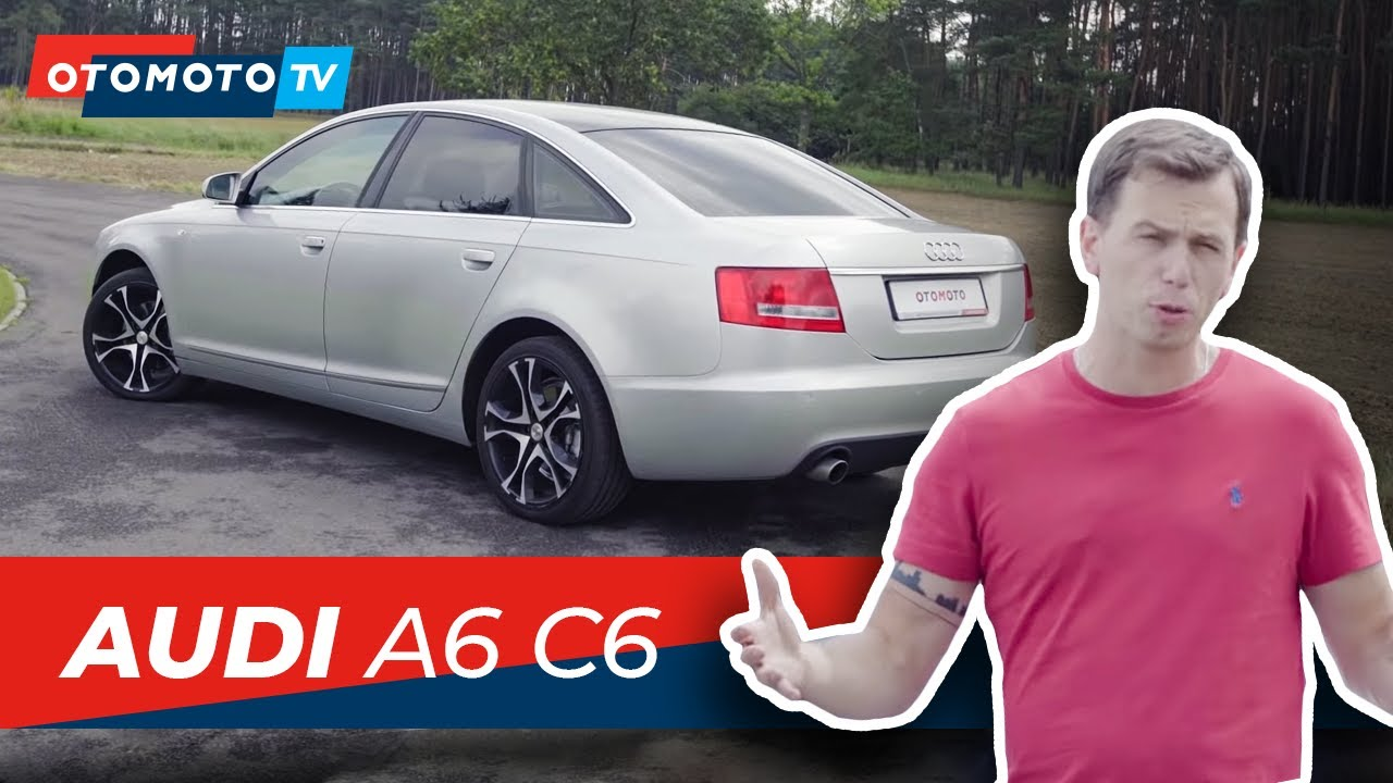 Audi A6 C6 Najlepsza Limuzyna 2005 Roku Przeżywa Drugą Młodość