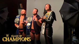 Shinsuke Nakamura crashes The Revival's championship photoshoot: WWE Exclusive, Sept. 15, 2019