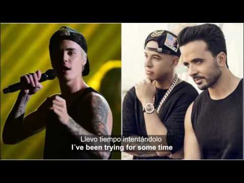 Subtitulado Español Despacito Justin Bieber Sings In Spanish  ENGLISH translation Official Music