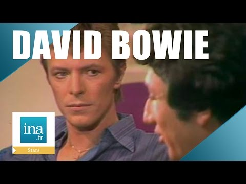 David Bowie chez Michel Drucker en 1977 | Archive INA