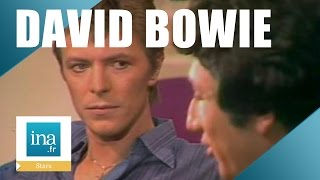 David bowie chez michel drucker en 1977 ...