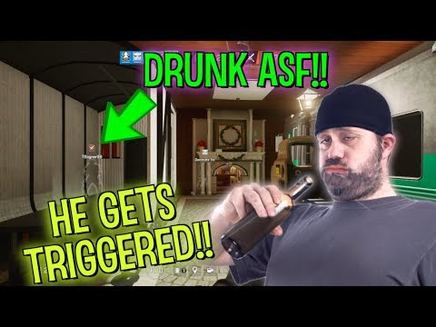 PLAYING WITH A DRUNK TEAMMATE - Rainbow Six Siege: Ranked Highlights (Operation Para Bellum)