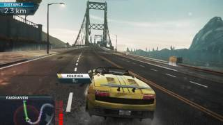 Taking out Most Wanted 6 with Lamborghini Gallordo in NFS MW 2012