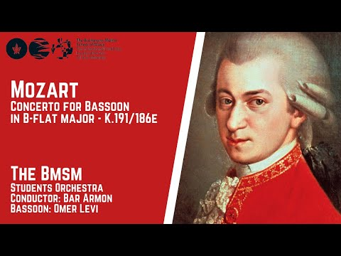 Mozart - Concerto For Bassoon In B-flat Major - K.191/186e