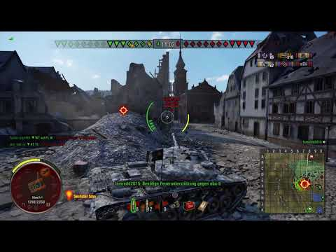 WoT Console T-57 Heavy 9 Kills 7200 dmg Ace Tanker 2vs6