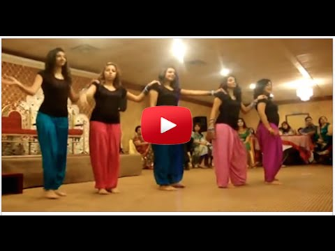Girl dance in Group marriage