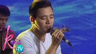"Kris TV: Erik Santos sings ""Best Thing I Never Had"""