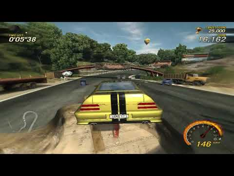 flatout 3 : race 22 (time vs bomb 4) with my car of ctr sport