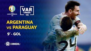 Copa América | Revisión VAR | ARGENTINA vs PARAGUAY | Minuto 9