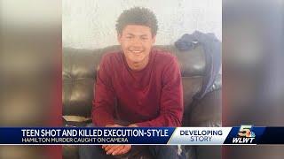 Hamilton murder caught on camera