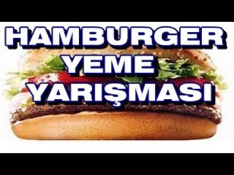 HAMBURGER YEME YARIŞMASI ( ISLATMA CEZALI )