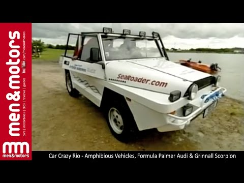 Car Crazy Rio - Amphibious Vehicles, Formula Palmer Audi & Grinnall Scorpion