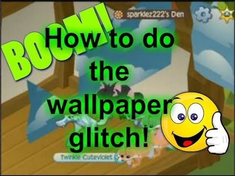 Animal jam how to do the wallpaper glitch youtube - Animal jam desktop backgrounds ...