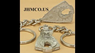 Oilfield Power Tongs Keychain JHM#235 Roughneck Gift
