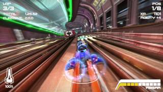 Wipeout 2048 Omega Collection 4K Subway Races A Class Feisar Prototype PS4 Pro