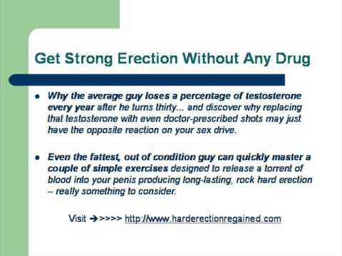 Erection shots