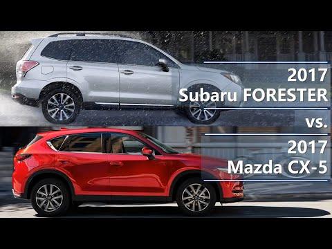 2017 Subaru Forester Vs 2017 Mazda CX-5 (technical Comparison)