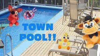 Fnaf plush-Town Pool