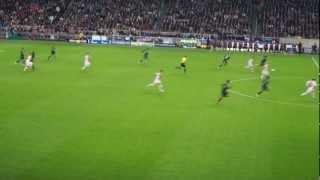 Karim Benzema Bicycle Kick GOAL! Ajax vs Real Madrid, 2012/10/03, Ajax Area