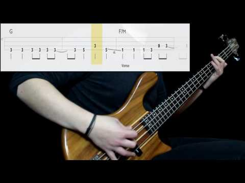 Royal Headache - Carolina (Bass Only) (Play Along Tabs In Video)