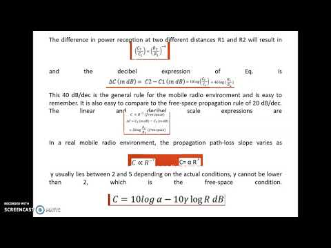 Cellular and Mobile Communications_Uniqueness of Mobile Radio Environment