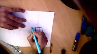 How to draw a minaret (top part)