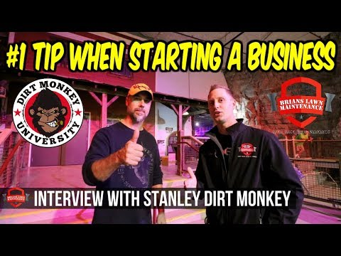 """#1 Tip To Start Your Own Business - Interview w/ Stanley """"Dirt Monkey"""" Genadek From GIE 2017"""