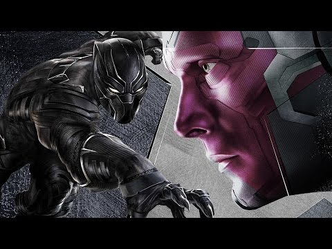 What Black Panther and Vision Think of the Civil War - Chadwick Boseman and Paul Bettany Interview