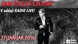 Jan PLESTENJAK v oddaji RADIO LIVE!