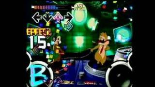 Dance Dance Revolution Disney Mix PlayStation Gameplay