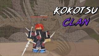 Kokotsu Clan Showcase l Shinobi Origin l Roblox