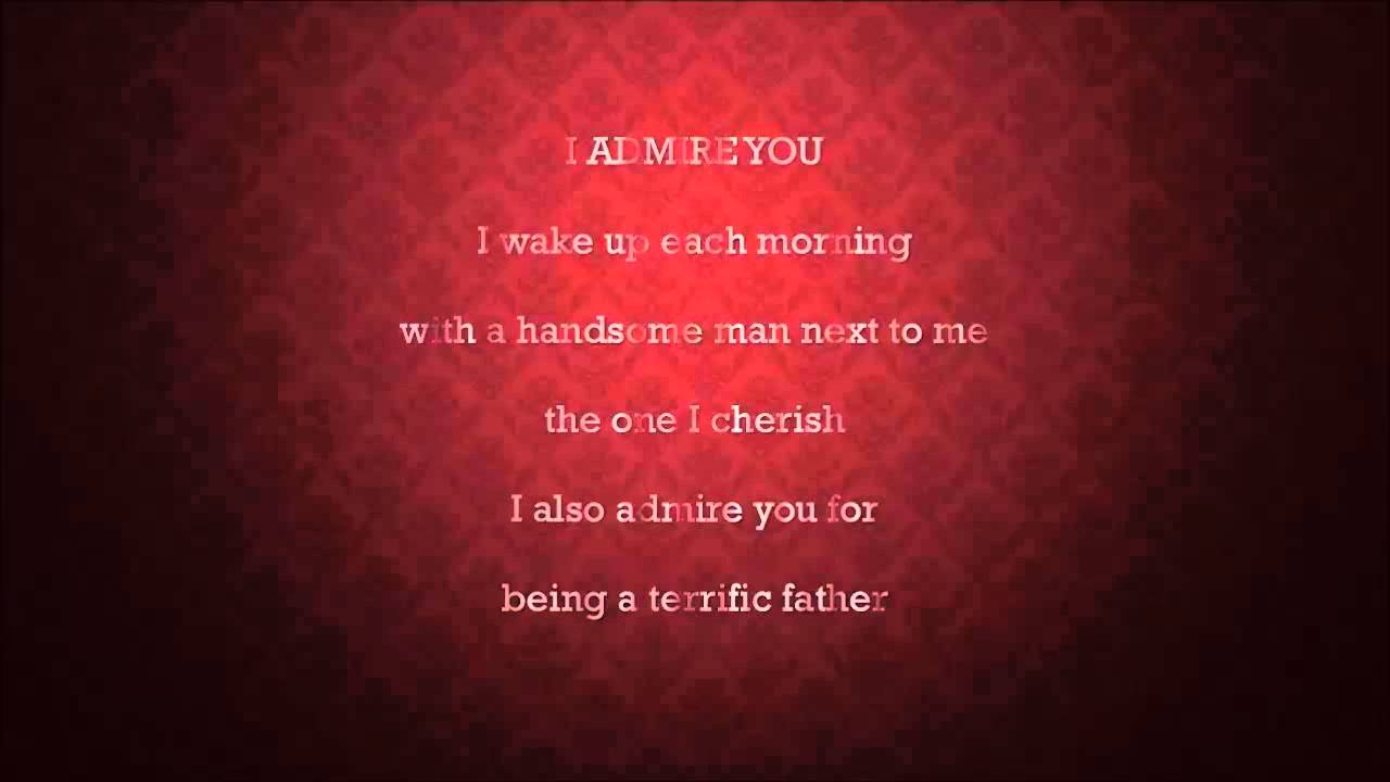 Valentines Day Quotes For Dad From Daughter: Fathers Day Poems For Wife Son Kids Daughter