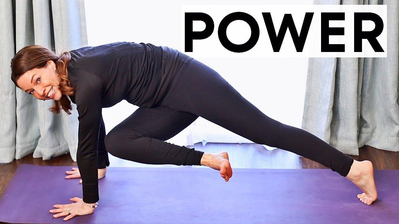 30 Minute Yoga (Power Vinyasa Flow) | Fightmaster Yoga ...