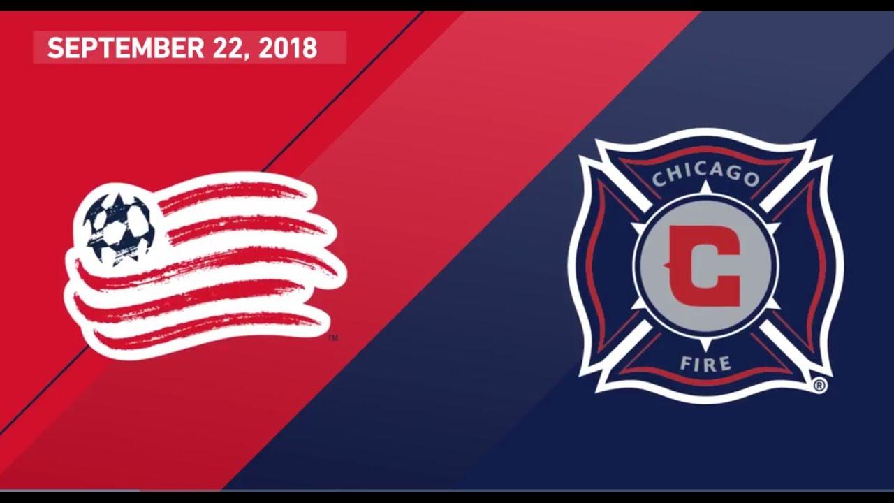 d4a80a36c HIGHLIGHTS: Chicago Fire vs. New England Revolution | Sept. 22, 2018 ...