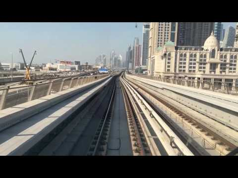 [DUBAI METRO] Red line Rear view