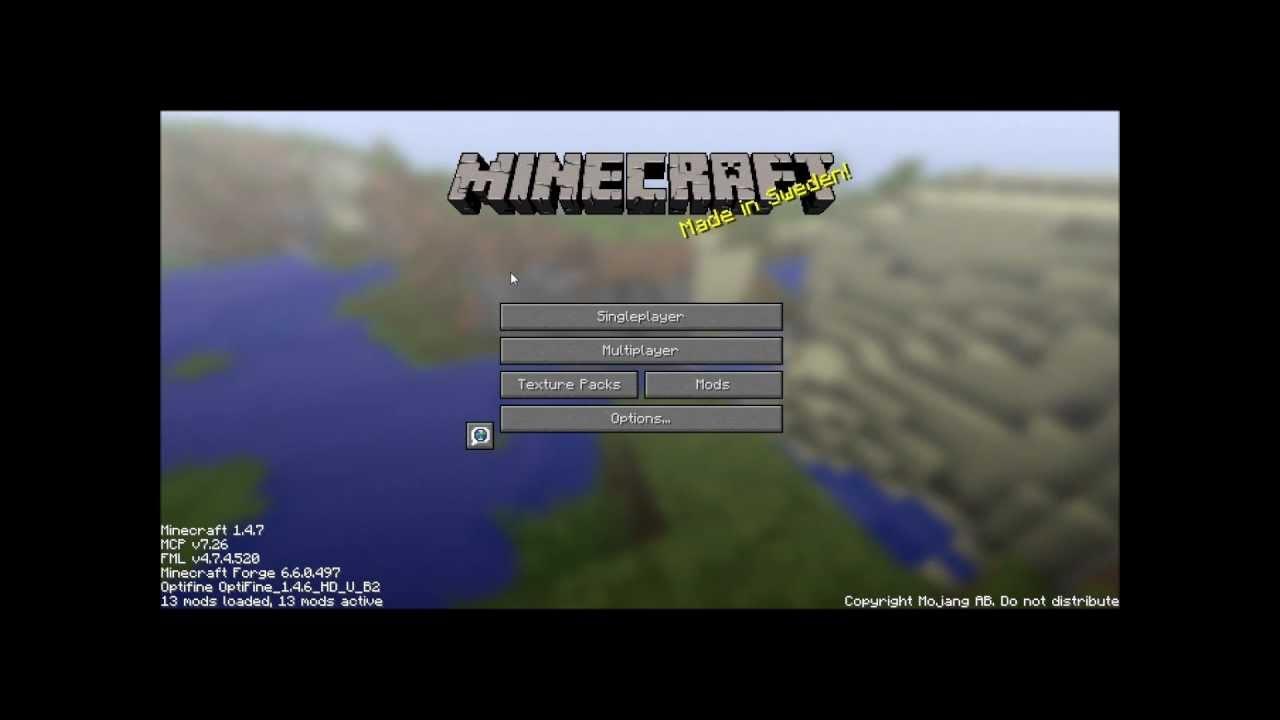minecraft sp 1.4.7