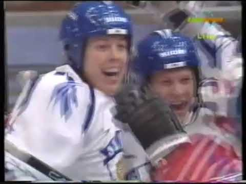 Olympic Games 1994. FINLAND - CZECH (12.02.1994, group tournament)