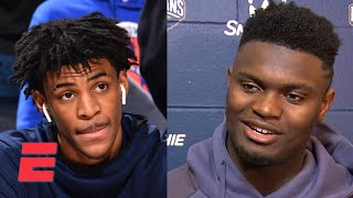 Zion Williamson: Ja Morant knows he's my brother | NBA Sound