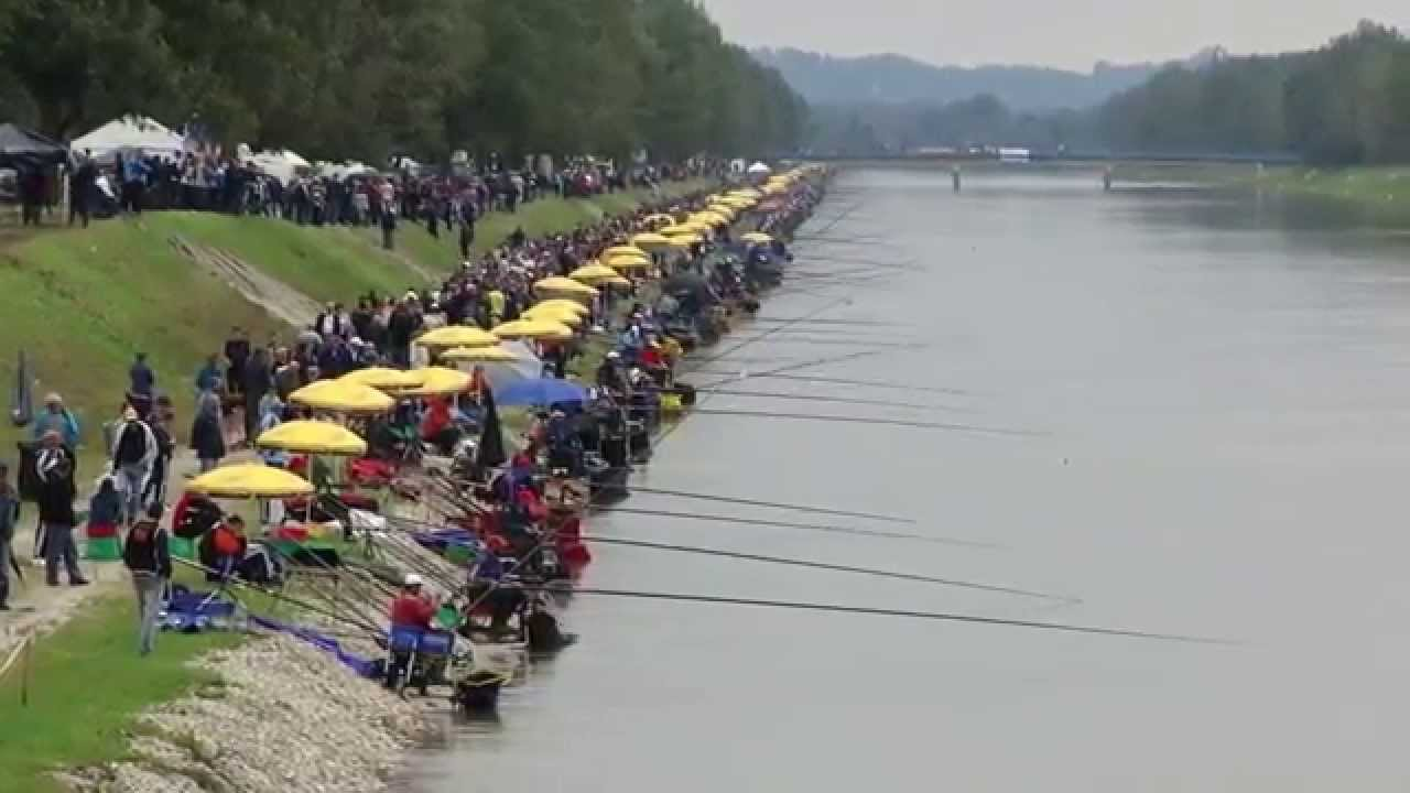 The 61st World Coarse Angling Championship 2014 - Prelog Croatia - YouTube