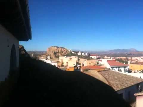 Cave homes of Guadix Spain