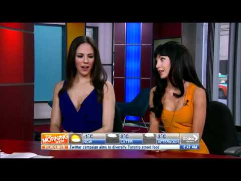 Lost Girl stars Anna Silk and Ksenia Solo on The Morning