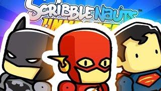SUPERHERO CREATOR - SCRIBBLENAUTS UNMASKED: A DC Comics Adventure