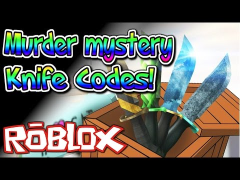 Denis Daily Roblox Knife Codes Nife Murder Mystery Rare Code
