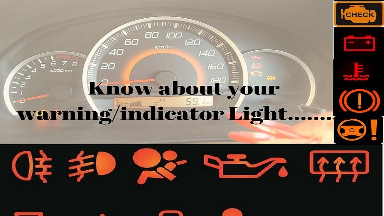 medium resolution of warning emergency light of wagon r full description in hindi