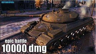 Т-10 так ИГРАТЬ и ТУПАНУТЬ 🌟 10000 dmg 🌟 World of Tanks лучший бой тт 9 лвл