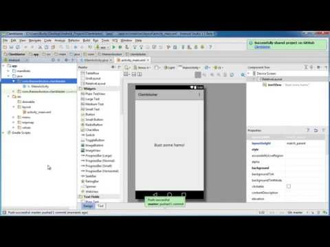 Android App Development for Beginners - 68 - Working with GitHub