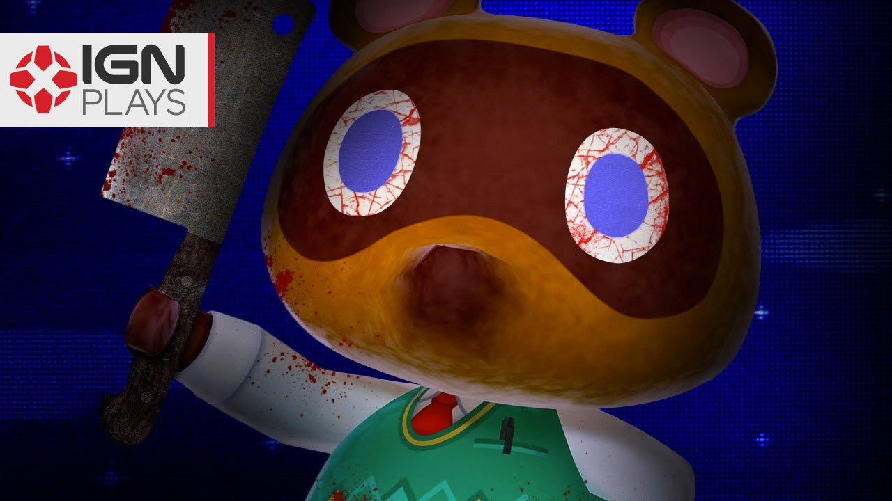 The Creepiest Dollhouse In Animal Crossing Happy Home Designer Ign Plays Youtube