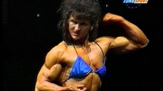 Natalia Murnokoviene wins 1994 FBB heavyweights
