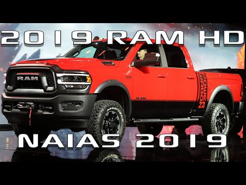 HDRAMS.COM - 2019 Ram 2500, 3500 Unveiling at NAIAS